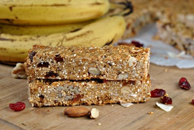 Quinoa Coconut Granola Bars 2