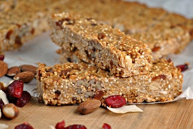Quinoa Coconut Granola Bars 3