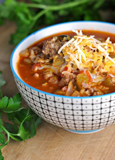 Stuffed Pepper Soup 1