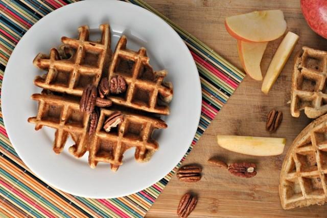 Banana Nut Waffles 2