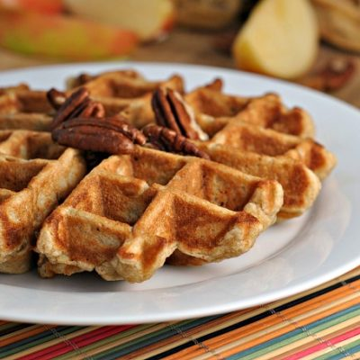 Banana Nut Waffles + Weekly Menu
