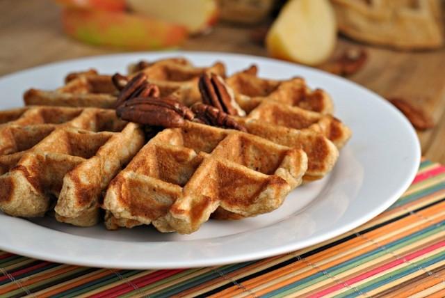 Banana Nut Waffles 3