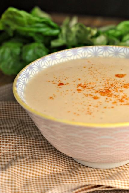 Cauliflower Cheddar Soup 1
