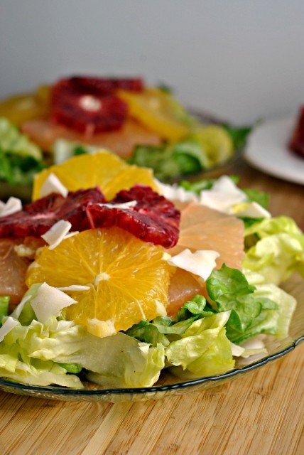 Citrus Salad with Coconut 1