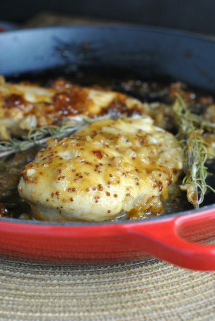 Easy Baked Honey Mustard Chicken 1