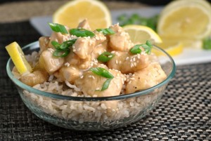 Honey Lemon Chicken + Weekly Menu