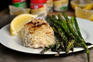 Lemon-Herb Baked Whitefish