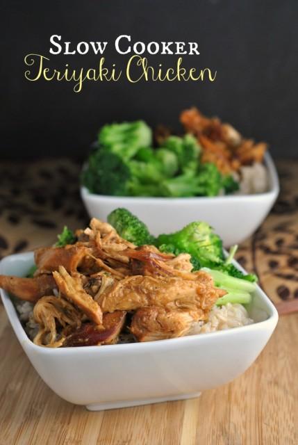 Slow Cooker Teriyaki Chicken 1