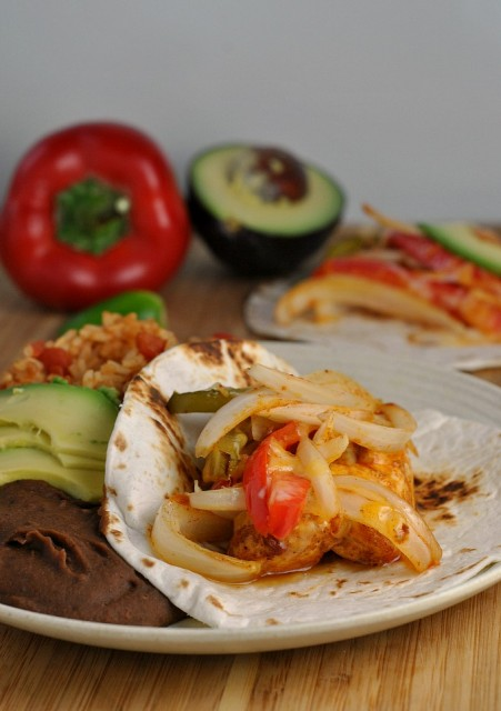 Chicken Fajita Bake 1