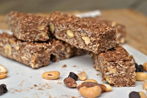 Best Ever Chocolate Oat No-Bake Bars