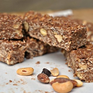 Chocolate Oat No-Bake Bars 4
