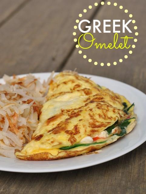 Greek Omelet 1