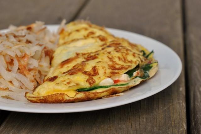 Greek Omelet 3