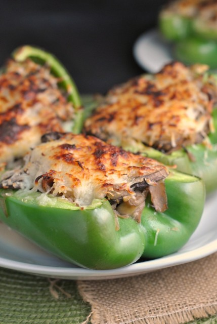 Philly Cheesesteak Stuffed Peppers 1