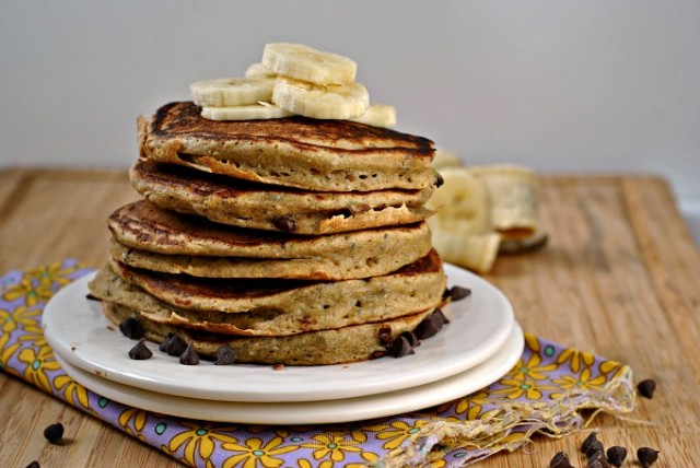 Ricotta Chocolate Chip Pancakes 3