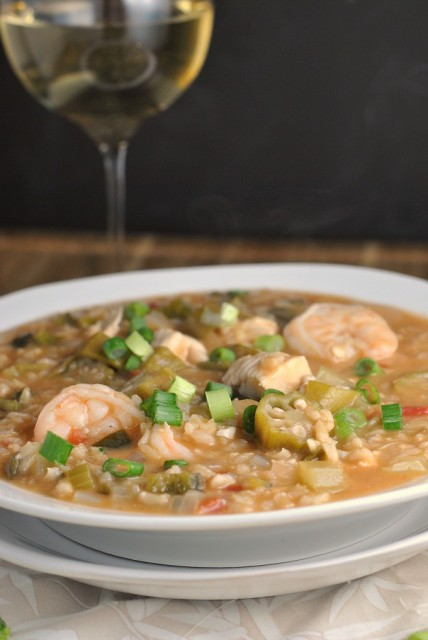 Shrimp and Chicken Gumbo 1