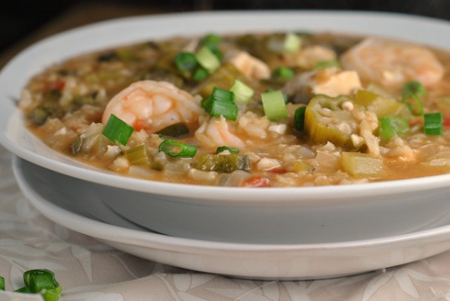 Shrimp and Chicken Gumbo 4