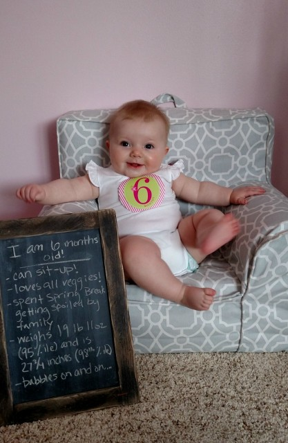 6 month picture blog