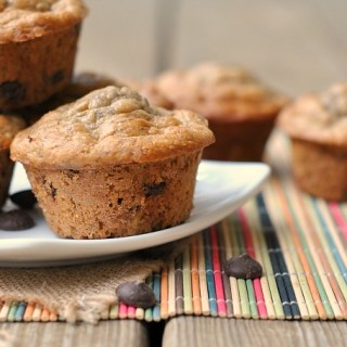 Low-Fat Banana Chocolate Chip Muffins