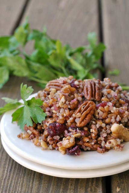 Quinoa Wheat Berry Salad 1