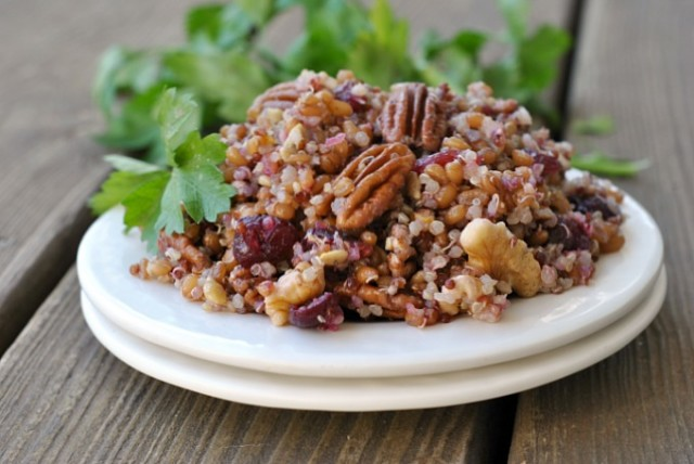 Quinoa Wheat Berry Salad 3