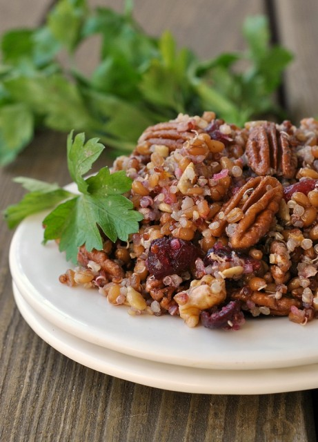 Quinoa Wheat Berry Salad 4
