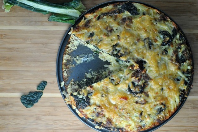 Sausage Kale Potato Pie 2