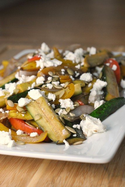Vegetables in Balsamic Cream 1