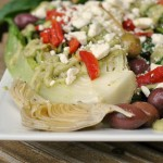 Grilled Romaine with Creamy Avocado Greek Dressing 4