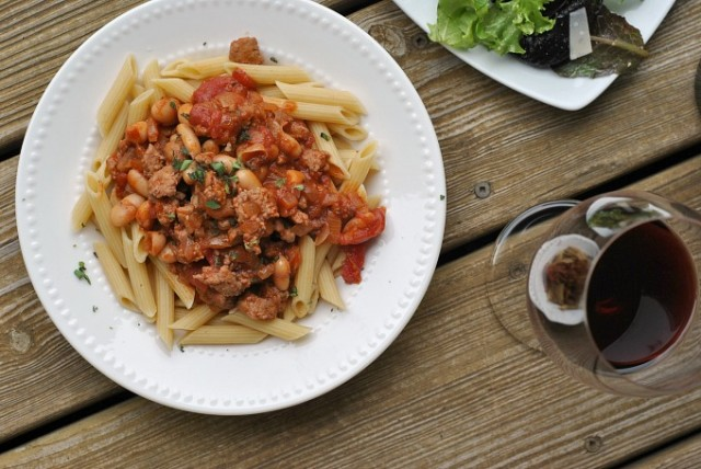 Sausage, Cannellini, and Tomato Ragout 2