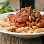 Sausage, Cannellini, and Tomato Ragout 3