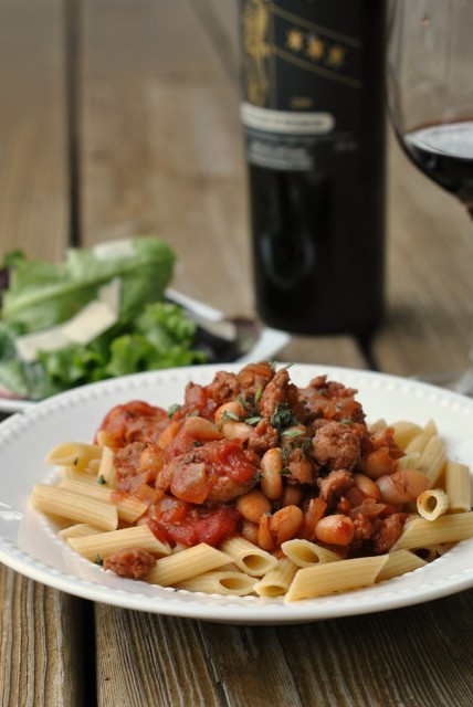 Sausage, Cannellini, and Tomato Ragout 4