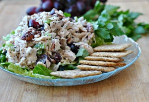 Whole Foods Sonoma Chicken Salad + Weekly Menu