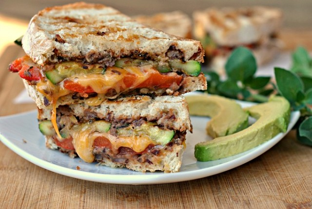 Mexican-Style Grilled Vegetable Sandwiches 4