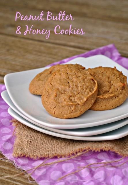 Peanut Butter Honey Cookies 1