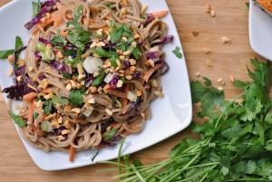 Peanut-Sesame Soba Noodles + Weekly Menu