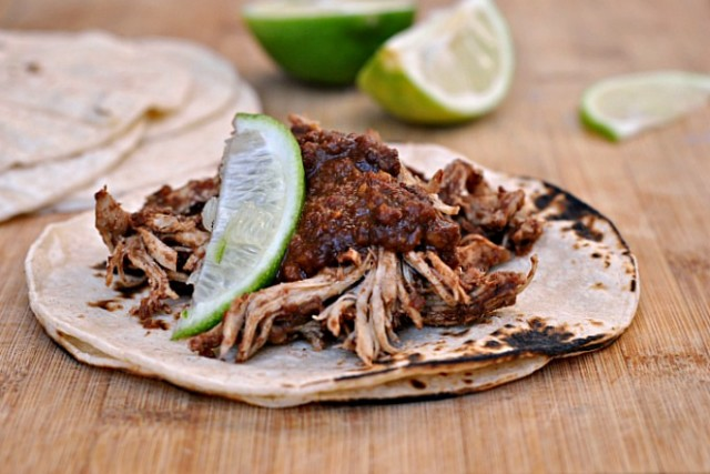 Slow Cooker Chicken Mole 4