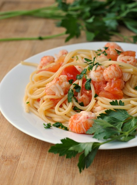 Spaghetti with Lobster 1