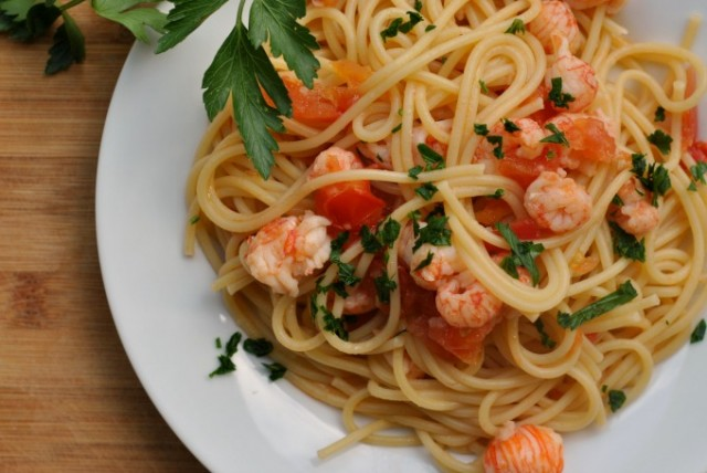 Spaghetti with Lobster 3