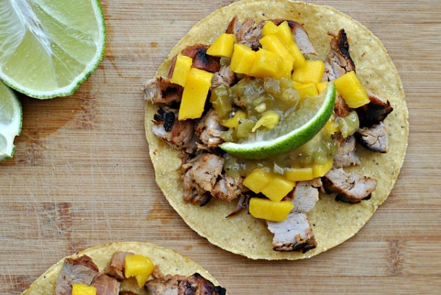 Tangy Pork and Mango Tostada 2