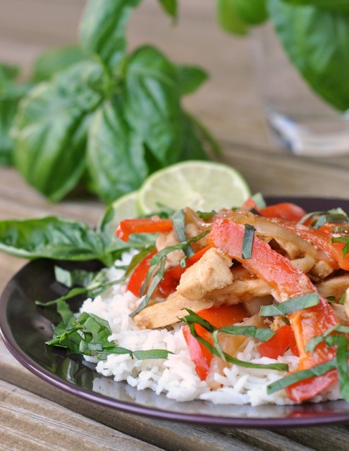 Thai Basil Chicken Stir-Fry 1