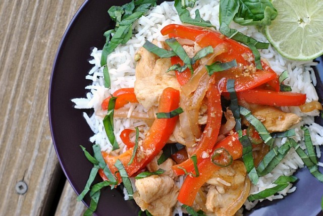 Thai Basil Chicken Stir-Fry 2