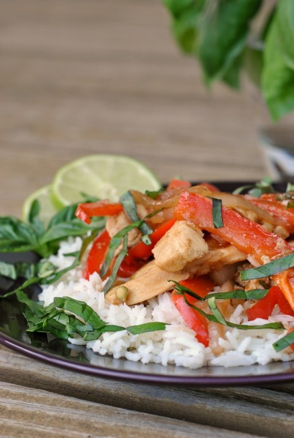 Thai Basil Chicken Stir-Fry  3
