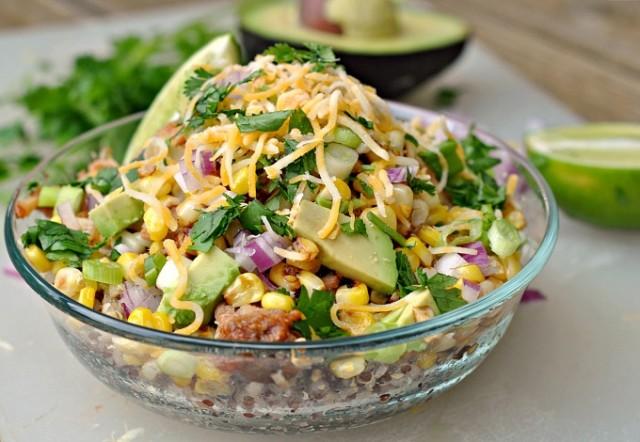 BBQ Chicken Quinoa Bowls 2