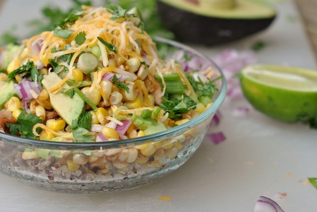 BBQ Chicken Quinoa Bowls 4
