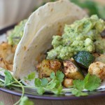 Chickpea, Zucchini, and Cauliflower Tacos 4
