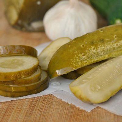 Copycat Claussen Dill Pickles