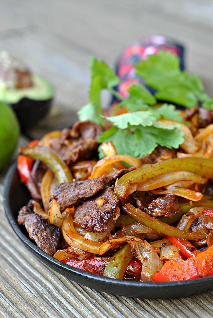 Easy Steak Fajitas 1