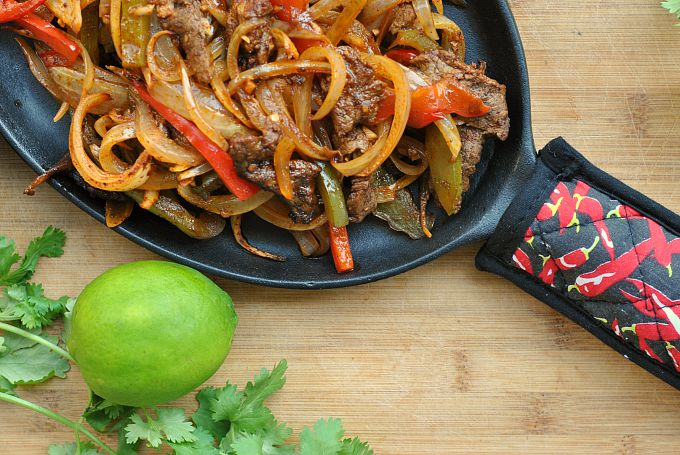 Easy Steak Fajitas 2