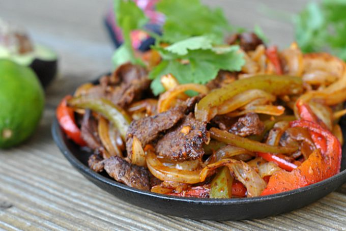 Easy Steak Fajitas 4